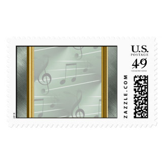 Music Soothes Postage Stamps