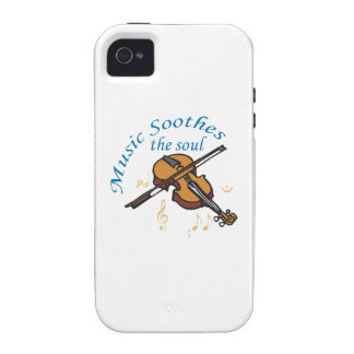 MUSIC SOOTHES THE SOUL iPhone 4/4S COVERS