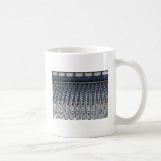 Music soundboard sound board mixer coffee mug