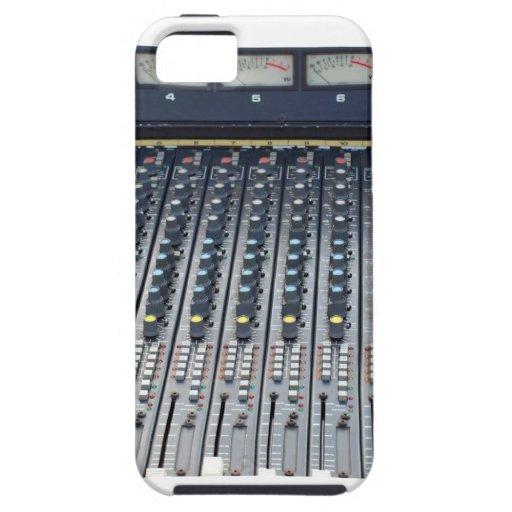 Music soundboard sound board mixer iPhone 5 case