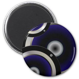 Music Speaker Background 2 Inch Round Magnet