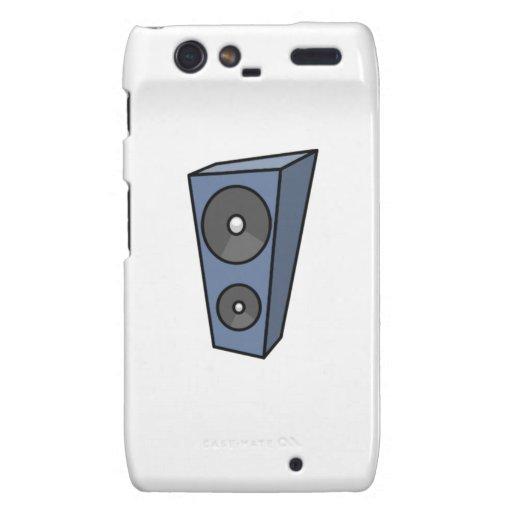 Music Speaker Droid RAZR Case