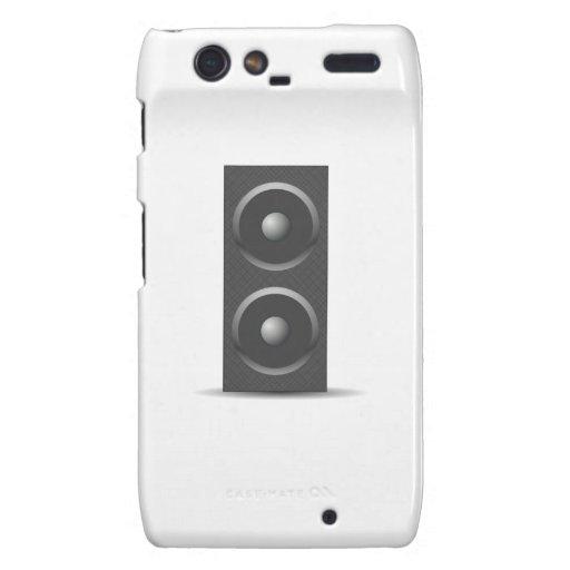 Music Speaker Droid RAZR Cases