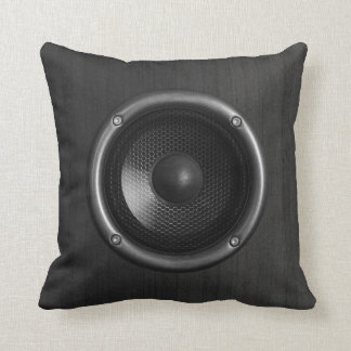 Music Speaker Funny Throw Pillow