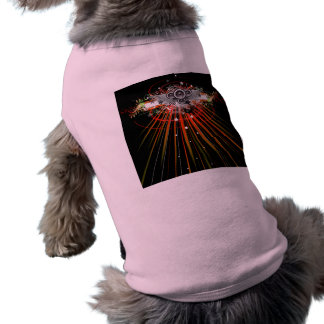 Music Speakers In Flight With Laser Beams Shirt