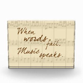 Music Speaks Award