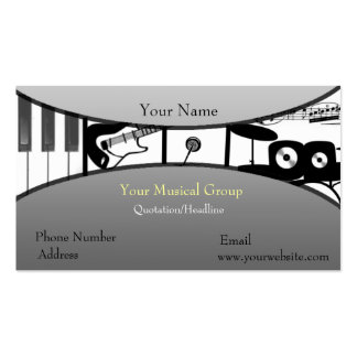 Music Speaks Business Card