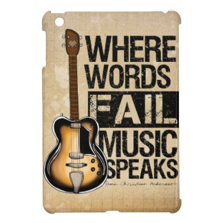 Music Speaks Cover For The iPad Mini