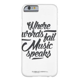 Music speaks phone case