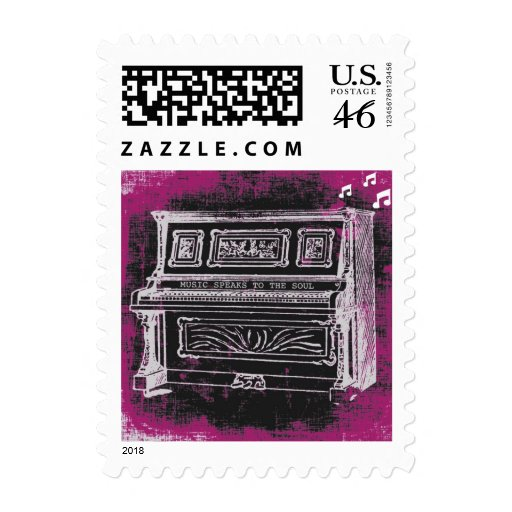 Music Speaks Stamps
