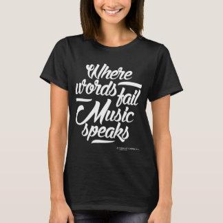 Music speaks Women's T-shirt