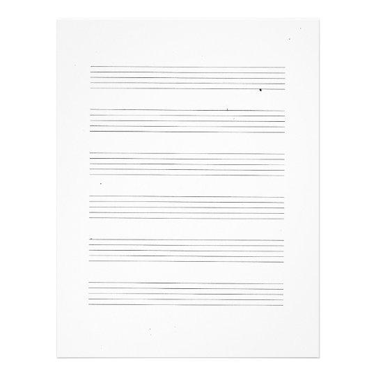 Musical Staff Paper  LondaBritishcollegeCo
