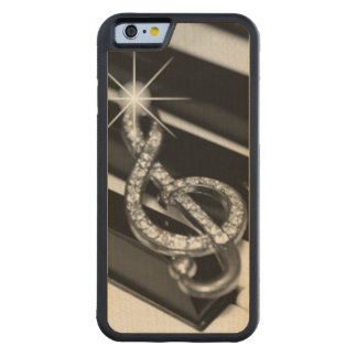 Music Staff Symbol Carved® Maple iPhone 6 Bumper