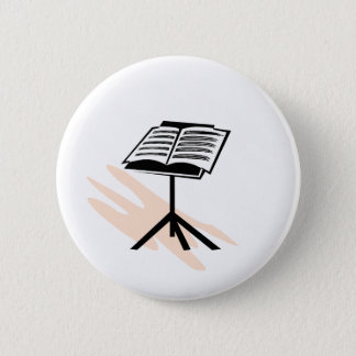 Music stand graphic design image button