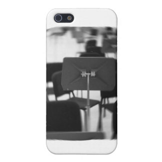Music Stand in Chairs spin zoom musical design Case For iPhone SE/5/5s