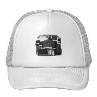 Music Stand in Chairs spin zoom musical design Trucker Hat
