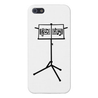 Music stand notes iPhone 5 cases