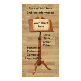 Music Stand Photo Cards