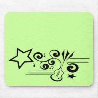music star mousepad