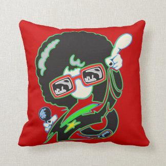 Music Star Throw Pillow