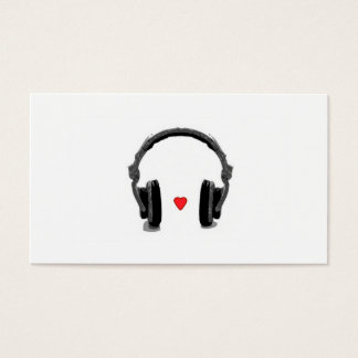 Music Store Business Card