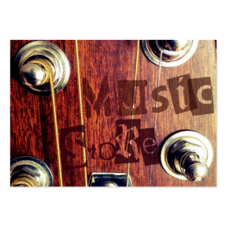 Music Store Large Business Card
