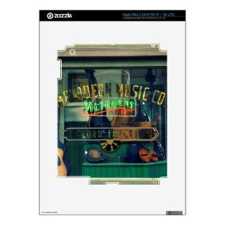 Music Store viejo Pegatina Skin Para iPad 3