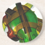Music  Stringed Instrument Violin Destiny Digital Coasters