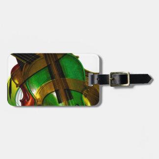 Music  Stringed Instrument Violin Destiny Digital Luggage Tag