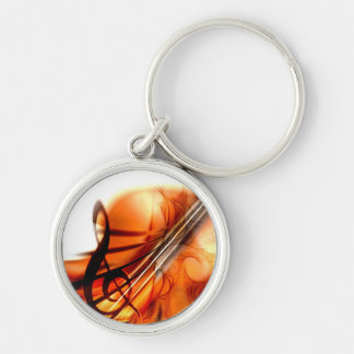 Music  Stringed Instruments Violin Destiny Dance Keychain