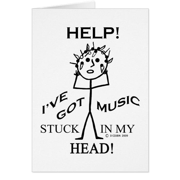 Music Stuck in My Head Card