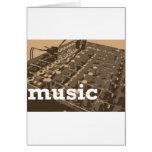 Music Studio Mixer Cards