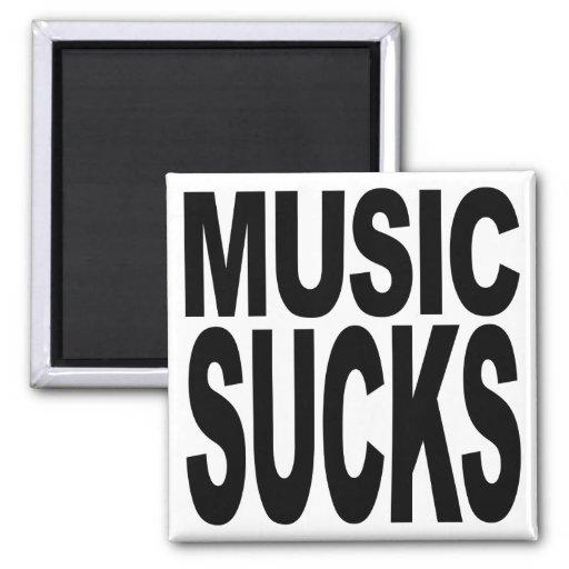 Music Sucks Magnets