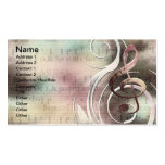 Music Swirl Business cards