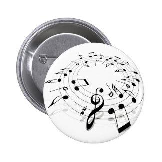 Music Swirl Buttons