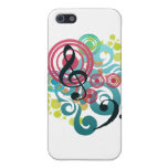 Music Swirl iPhone 5 case