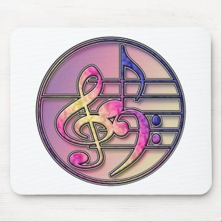 Music Symbols 1 Mouse Pad