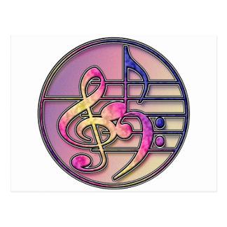 Music Symbols 1 Post Card