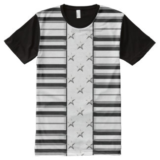 Music Symbols All-Over Print T-shirt