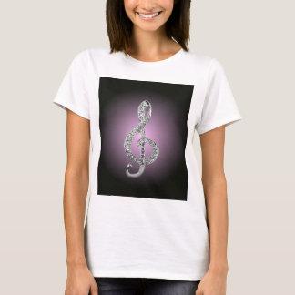 Music Symbols G-clef T-Shirt