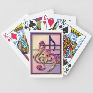Music Symbols playing cards