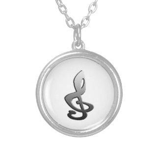 Music Symbols Staff G-clef Jewelry