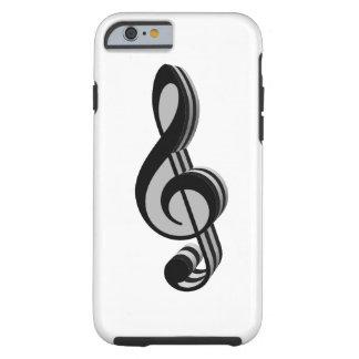Music Symbols Tough iPhone 6 Case