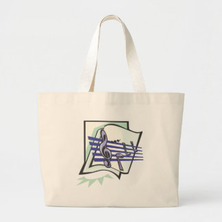Music T-Shirts and Music Gifts Jumbo Tote Bag