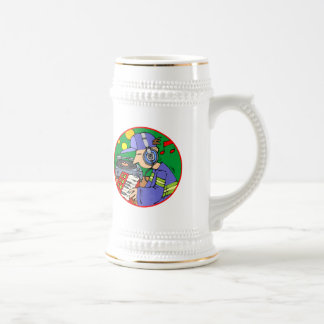 Music T-Shirts and Music Gifts 18 Oz Beer Stein