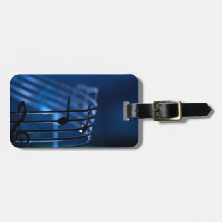 Music Tag For Luggage