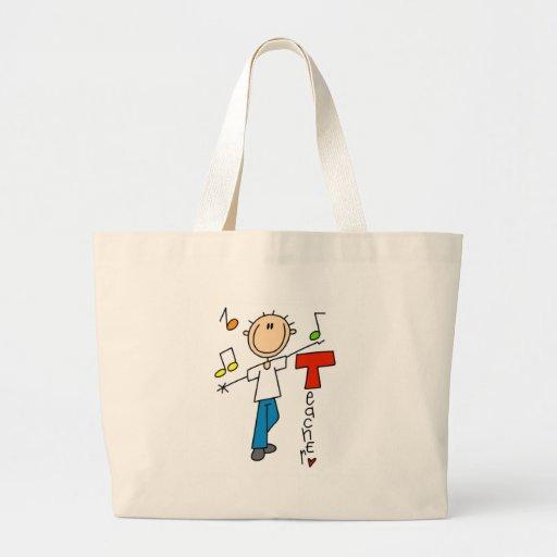 Music Teacher Canvas Bag