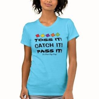 Music Teacher Bean Bag Movement Activity T-Shirt