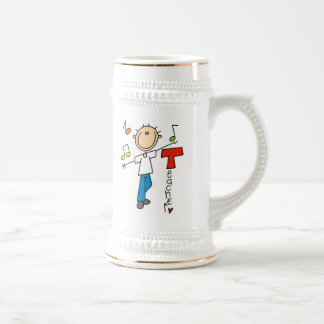Music Teacher Beer Stein