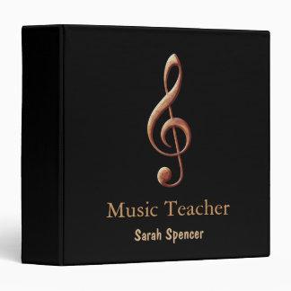 Music Teacher  - Binder